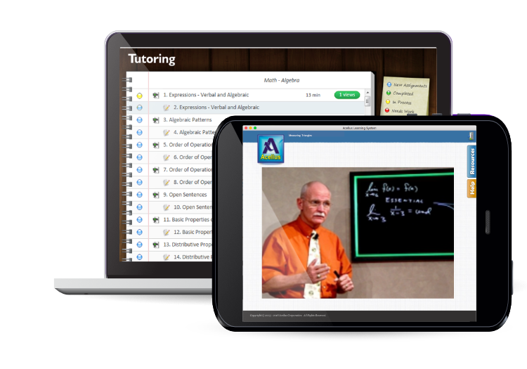 Acellus K-12 Video-Based Courses