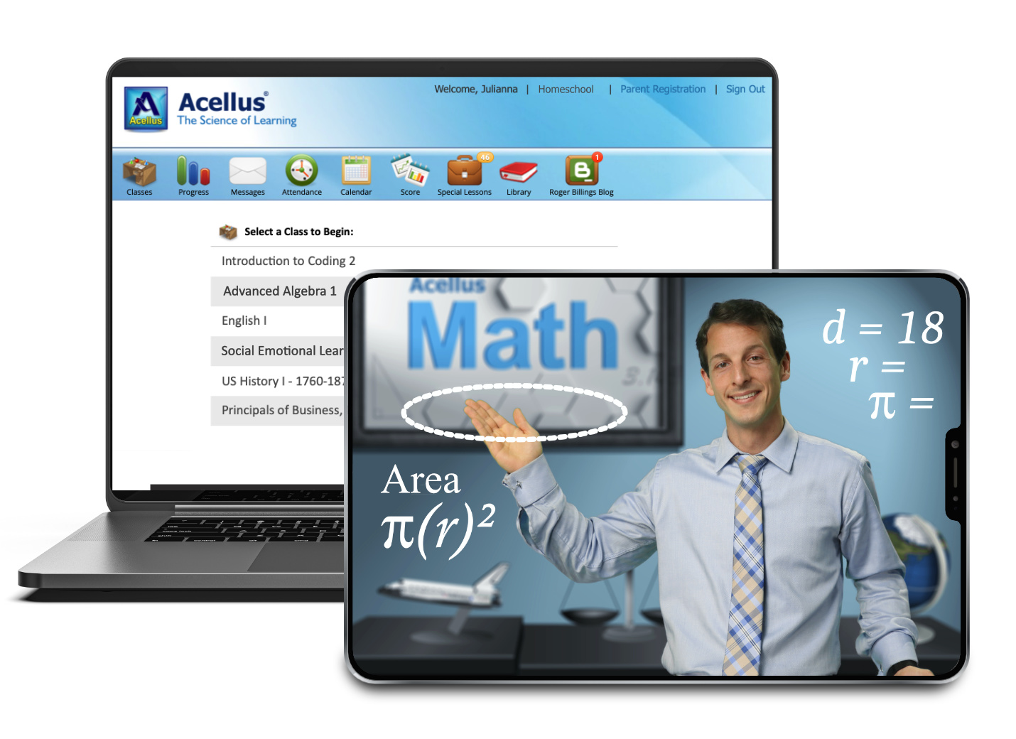 Online Courses by Acellus